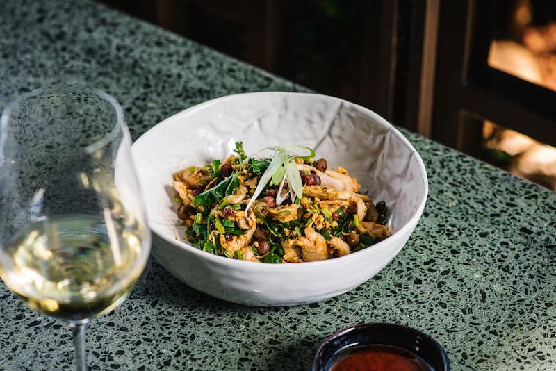 madame shanghai Spicy Chicken Salad