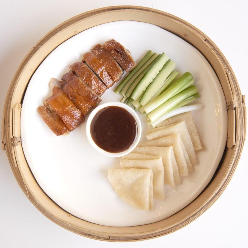 Cha Li Boi - DIY Peaking Duck Pancakes