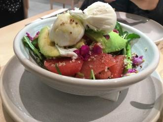 The Walrus salmon salad