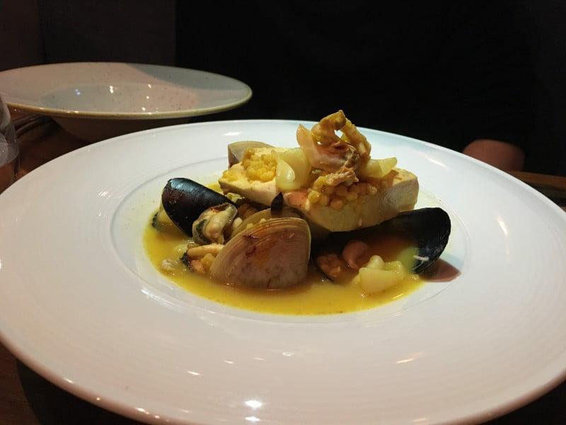 The Hyde fish bouillon