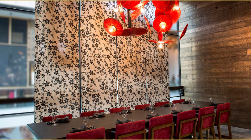 General Chao private dining roon