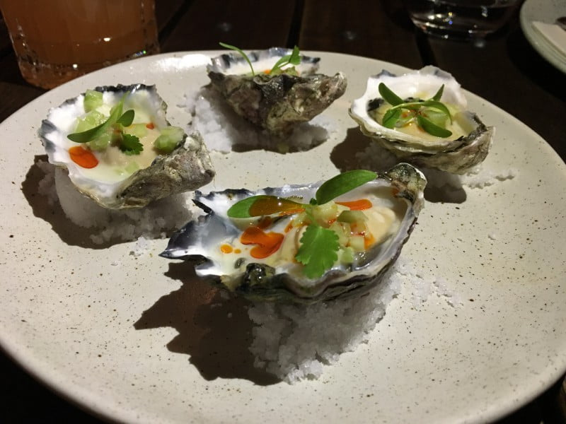 The Butler oysters