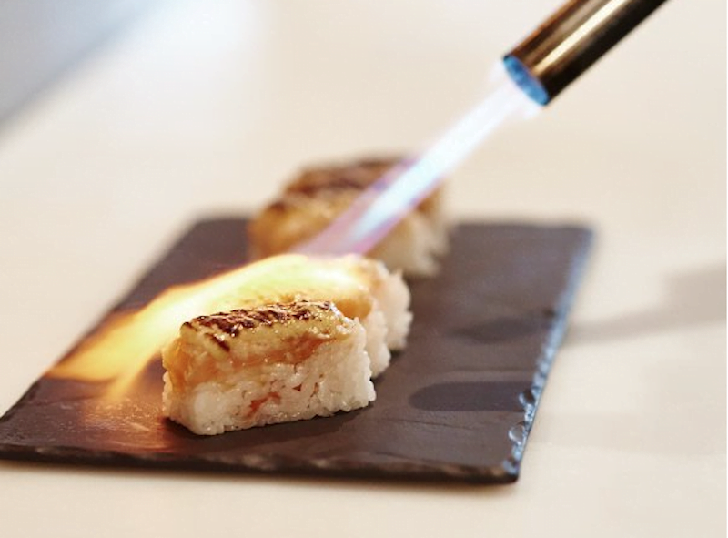 The Modern Eatery Seared Sushi