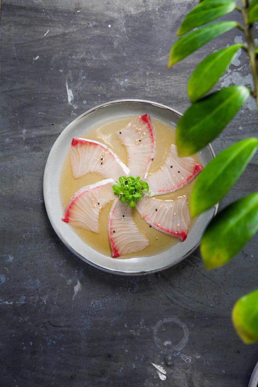 Raw Bar sashimi