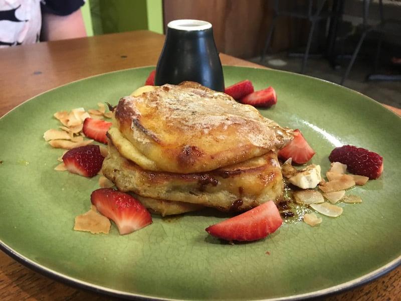 Hoochie Mamma cafe buttermilk pancakes