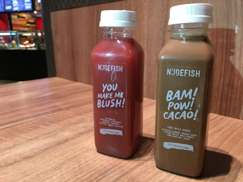 Nudefish Poké juices