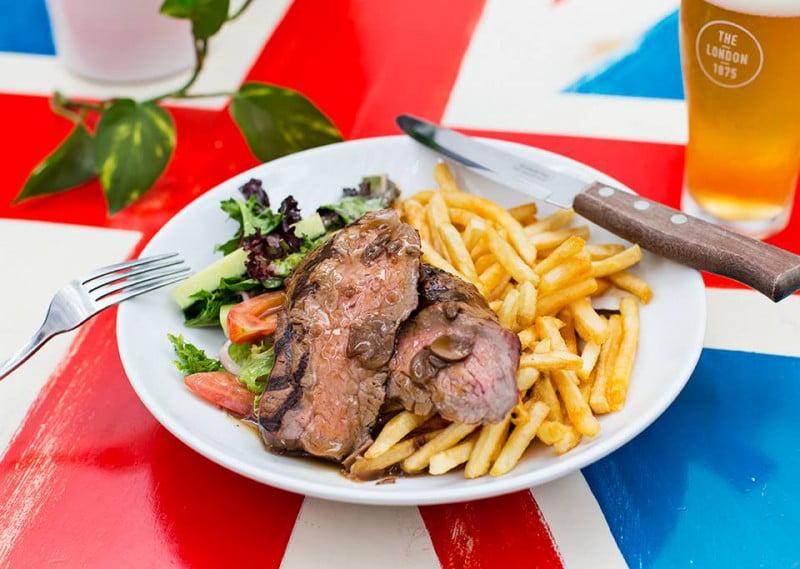 the london hotel steak