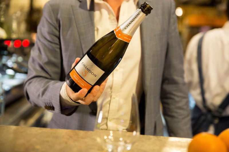 chandon s spring pop up
