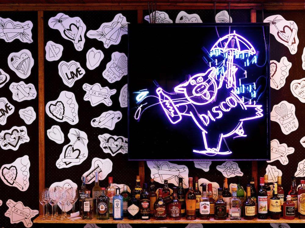 Mr Liquor's Dirty Italian Disco featured