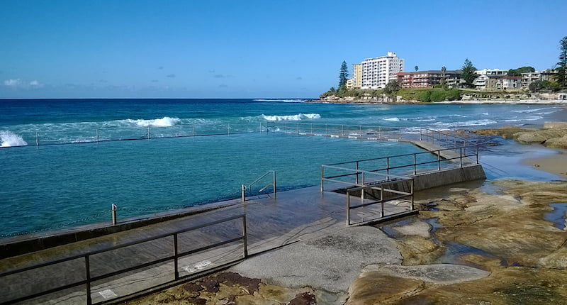 Cronulla Beach Rock Pool