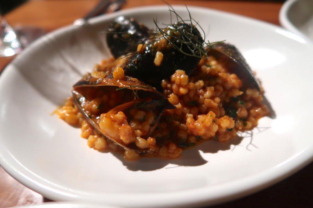 Culina et Vinum fregola pasta