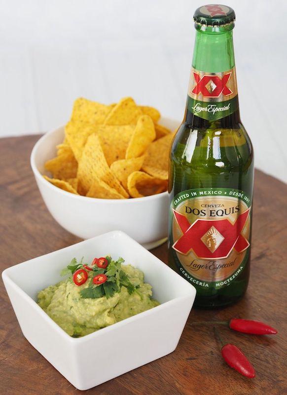 Dos Equis Lager Especial + Beer Guacamole & Nachos_preview