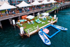 Pier One's Pop-up Pool and Bar is Back This Summer