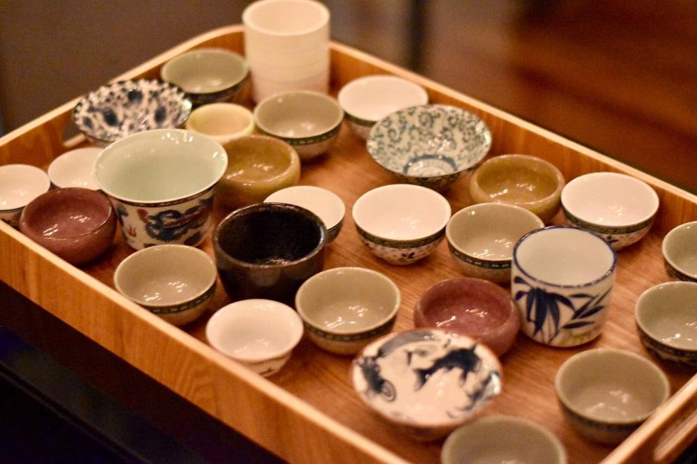 Jade temple tea range
