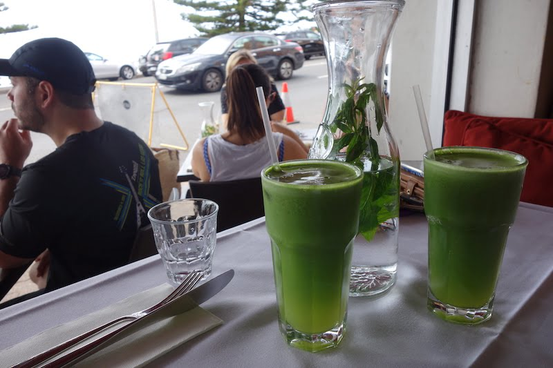 Trio Green smoothie