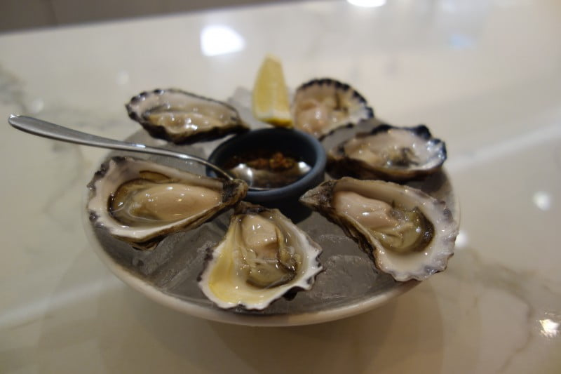 Song Kitchen oysters