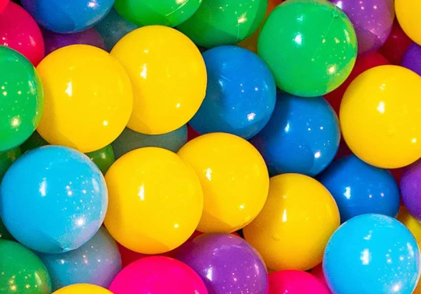 adults only ball pit party