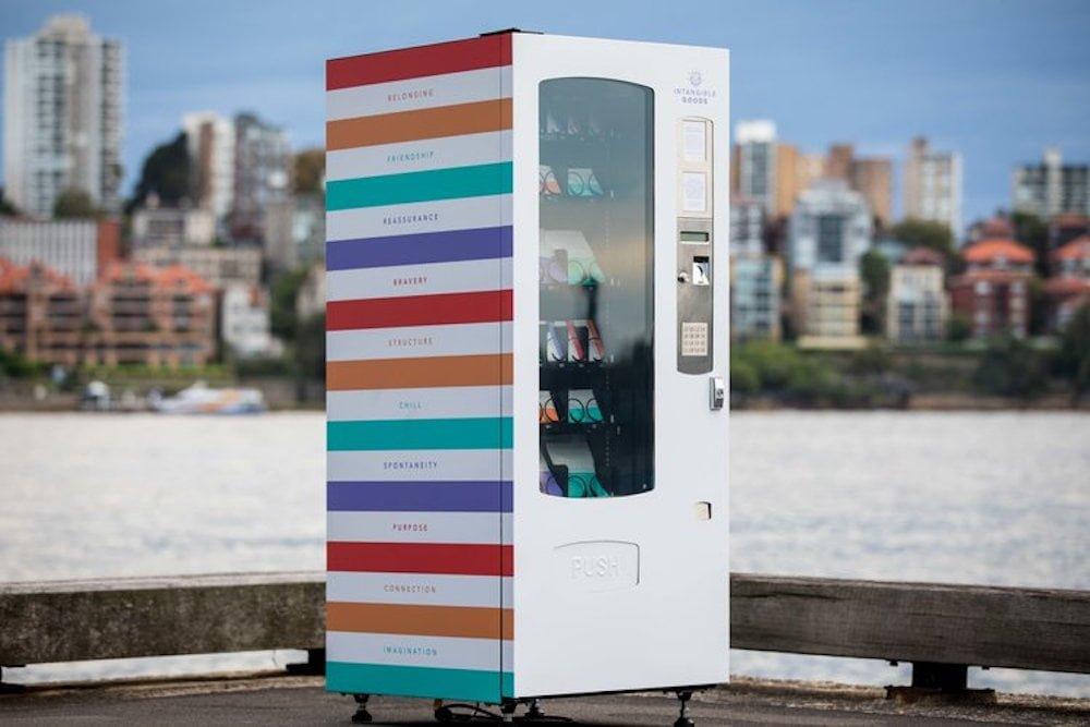 ntangible Goods Vending Machine
