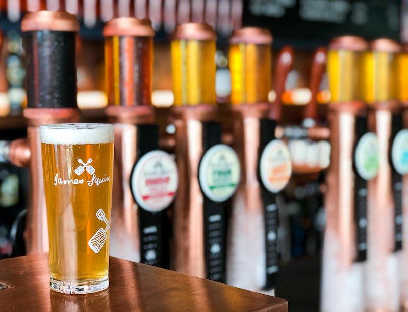 The Squire's Landing - Opening - Beer Taps