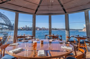 The Squire's Landing Sets Sail in Circular Quay