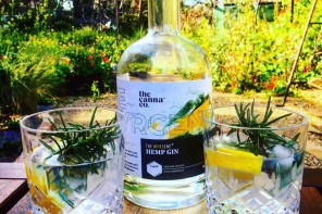 An Australian Company Unveils A New Cannabis-Infused Gin