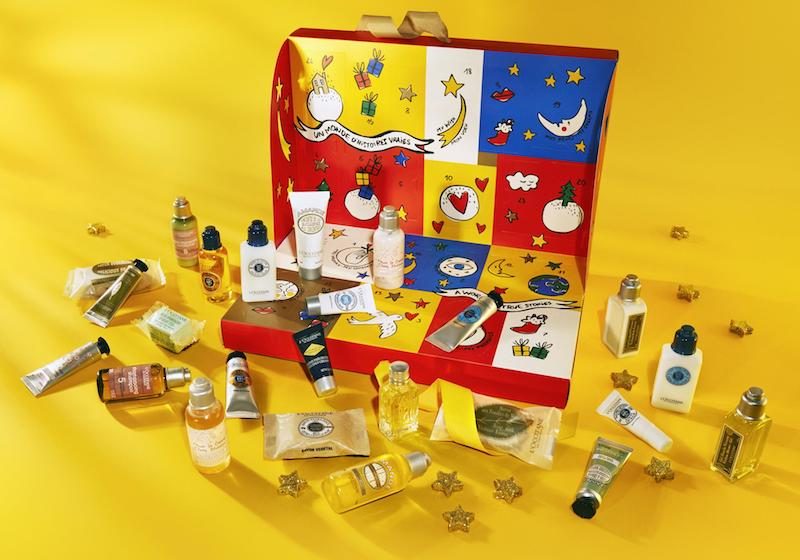 loccitane advent calendars