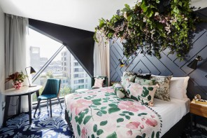 Sleep Under a Gorgeous Floral Installation In The Heart of Sydney's CBD