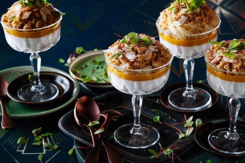 duck rice dessert