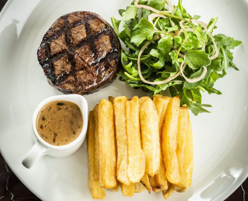 the glebe hotel steak