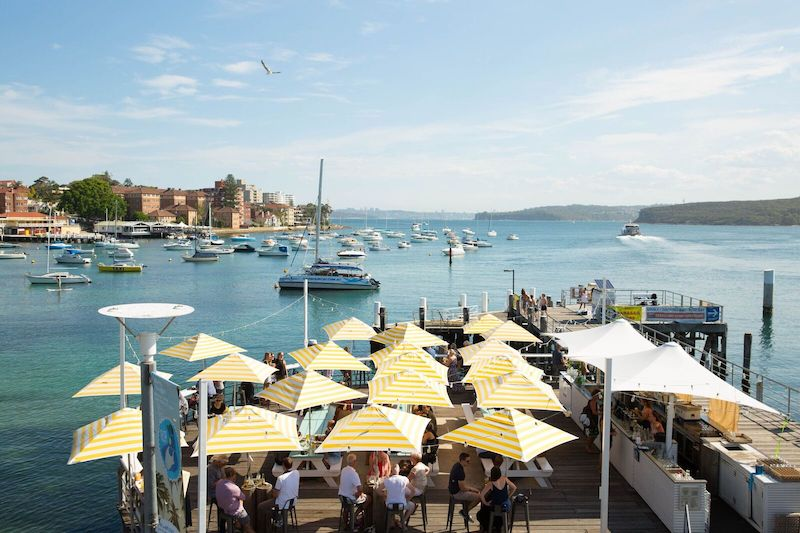 manly wharf bar april