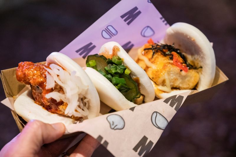 Sydney Night Noodle Markets 2019 Bao