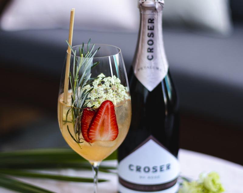 Croser Sparkling Rose Spritz