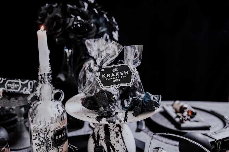 Kraken Rum Edible Christmas Coal