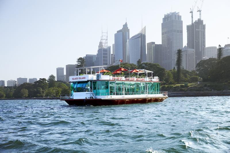 Glass Island Sydney Harbour